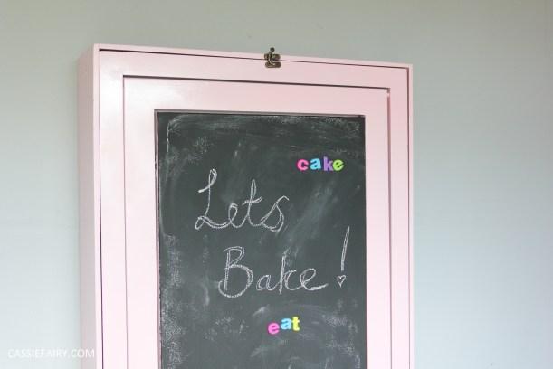 kitchen DIY furniture Makeover project bake station - storage cooking baking tutorial-20