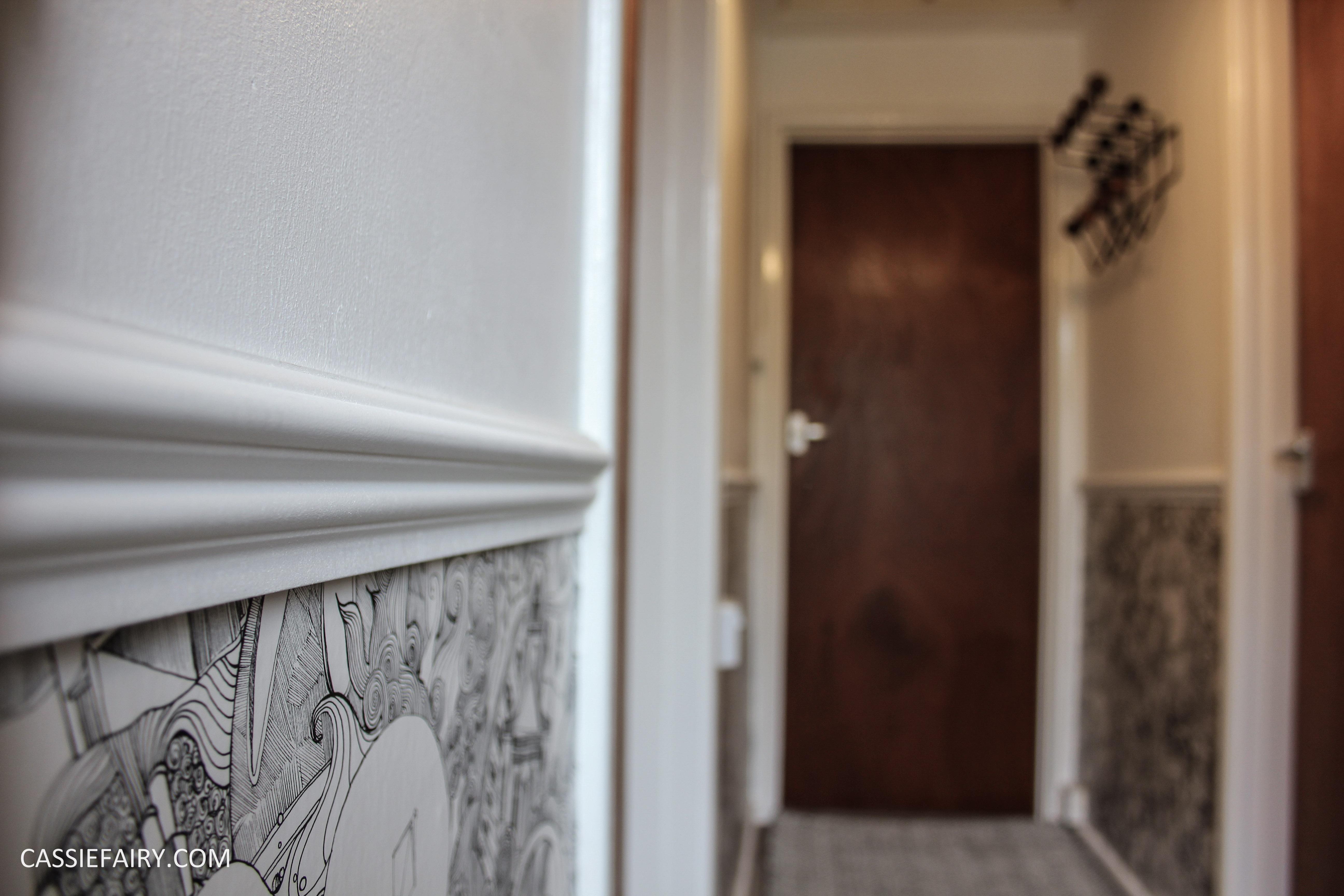 Monochrome Interior Design Inspiration For A Hallway Makeover