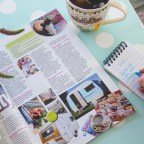 My little vintage caravan – I've been featured in Caravan Magazine!