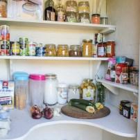 My pantry makeover + kitchen storage ideas