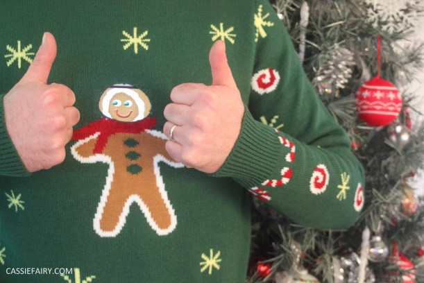 animated christmas jumper festive gift inspiration text santa