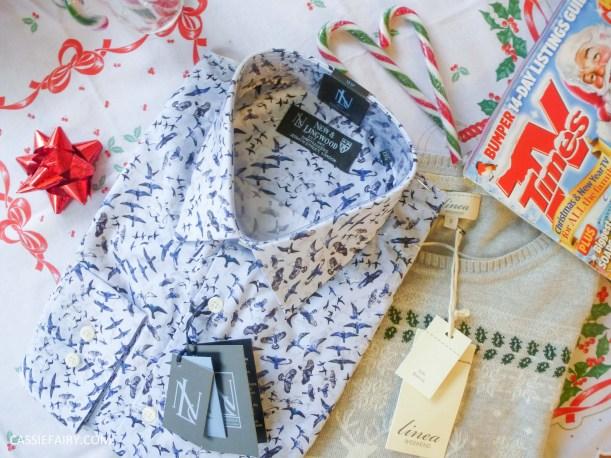 christmas jumper festive gift inspiration shirt text santa
