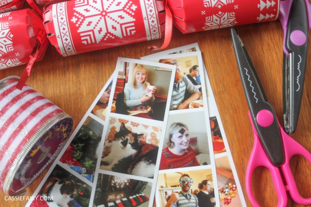 personalised christmas crackers diy project-2