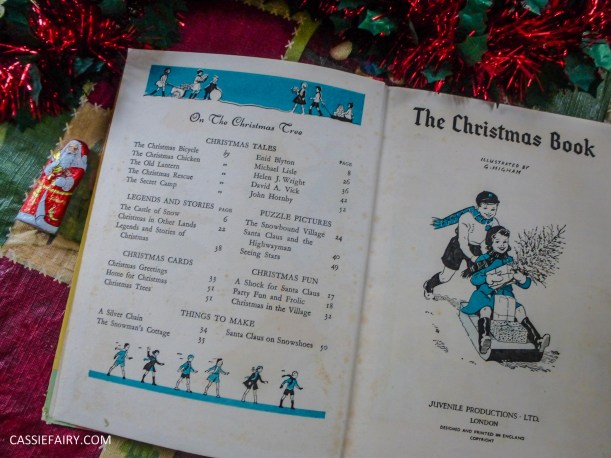 the christmas book vintage retro antique book g higham-3