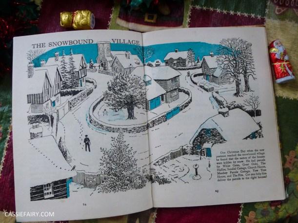 the christmas book vintage retro antique book g higham-7