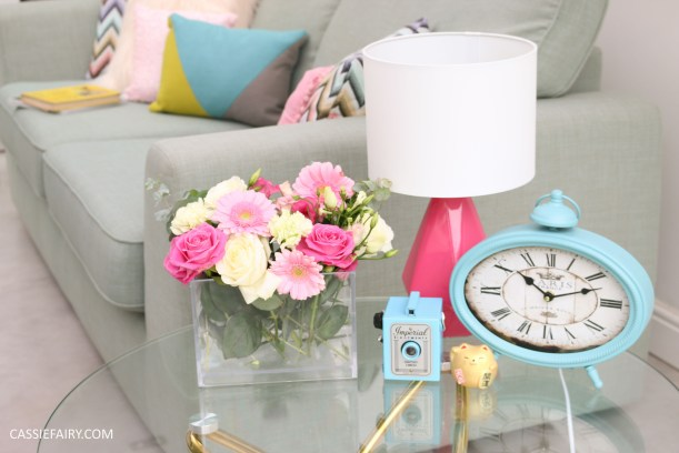 DFS candy colours interior design inspiration for spring summer 2016 accessories