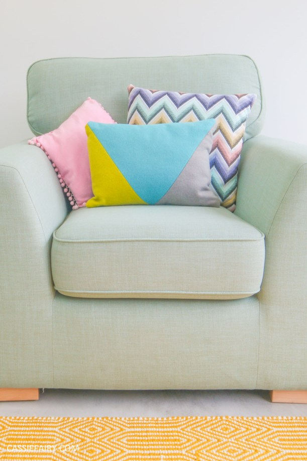 DFS candy colours interior design inspiration for spring summer 2016 arm chair 1