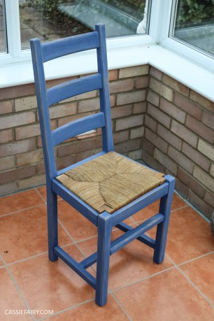 Furniture Makeover Project Rust-Oleum paint retro conservatory chair_-23