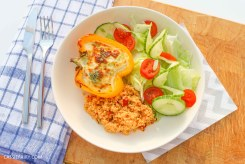 Healthy Pastry-free Quiche
