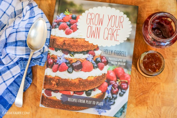 grow your own cake recipe cook book review holly farrell