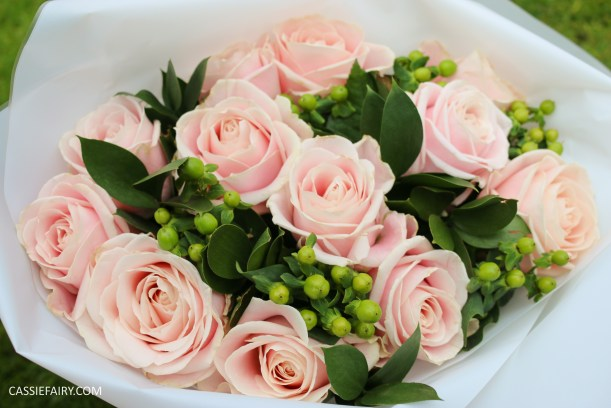 rose bouquet flowers gift blossoming gift valentines present-2