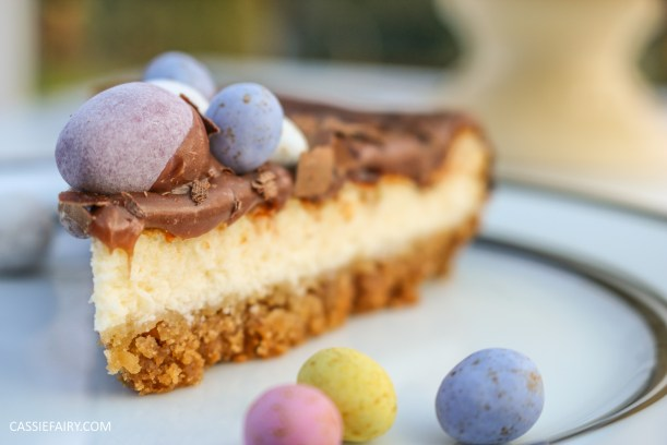 easter baked chocolate cheese cake recipe-2