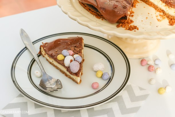 easter eggs baked chocolate cheesecake recipe-12