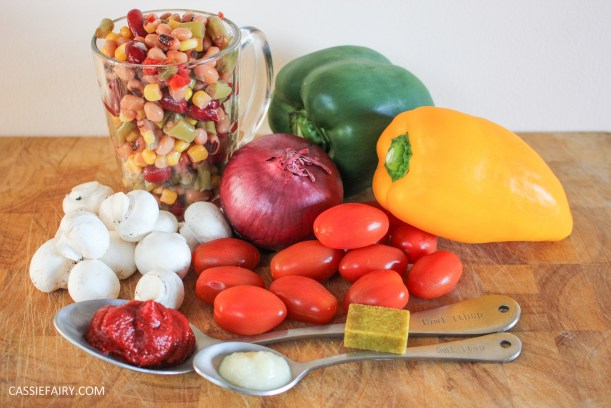 italian chicken and bean stew recipe cooking ingredients