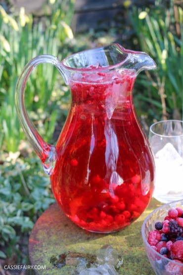 summer fruit punch recipe cranberry raspberry fizz for easter-4