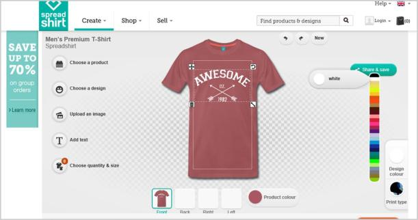 spreadshirt design your own t shirt diy step by step