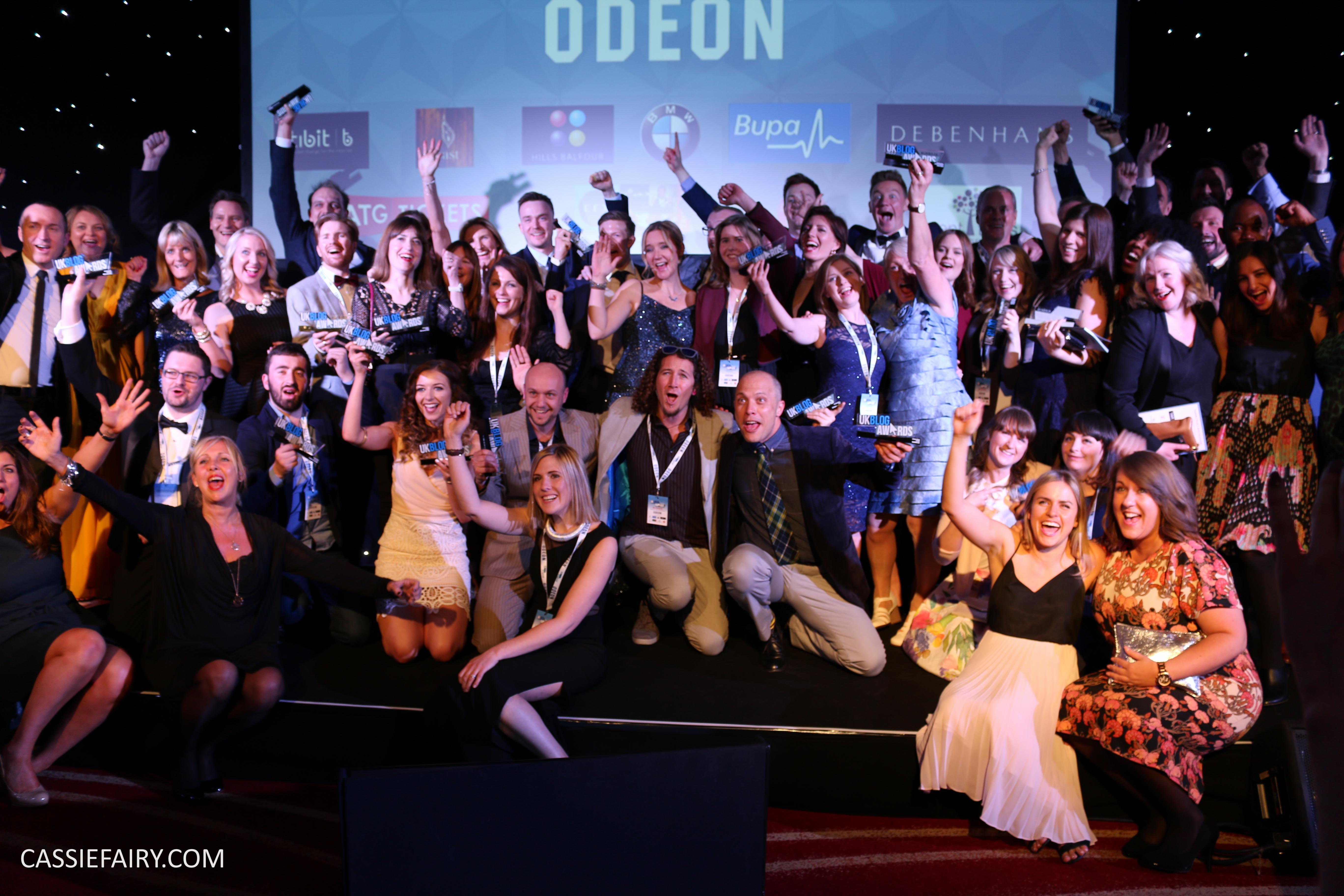 Uk Blog Awards Ceremony