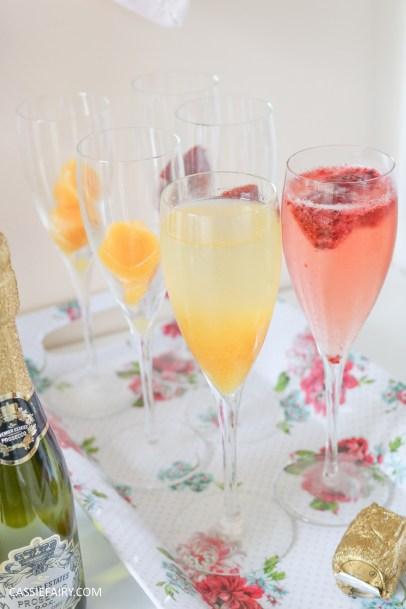 wedding hen party queens birthday celebration idea diy fruit puree ice cubes recipe-24