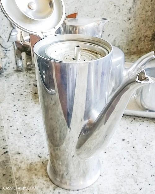 Picquot ware coffee pot percolator magnalium-5