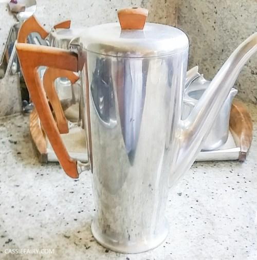 Picquot ware coffee pot percolator magnalium-6