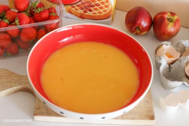 birds eye breakfast waffles eggy bread french toast fruit breakfast brunch recipe-2