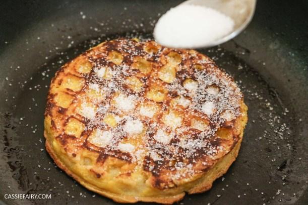 birds eye breakfast waffles eggy bread french toast fruit breakfast brunch recipe-8