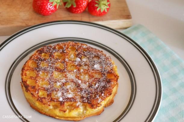 birds eye breakfast waffles eggy bread french toast fruit breakfast brunch recipe-9