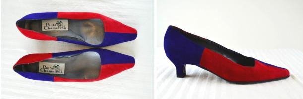colour block retro vintage 80s 1980s court shoes footwear tuesday shoesday
