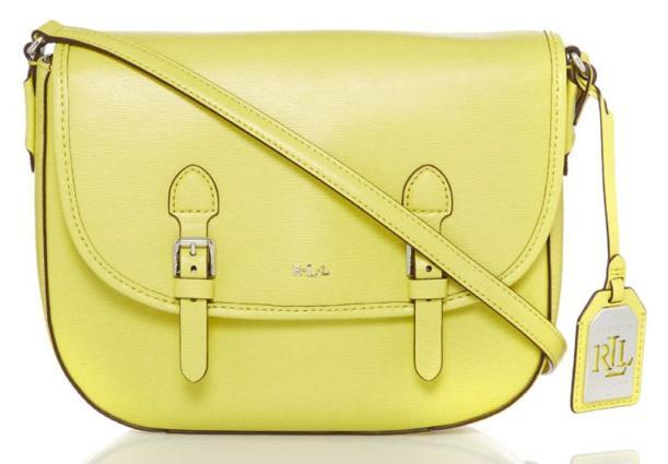 handbag satchel school work yellow spring summer 2016