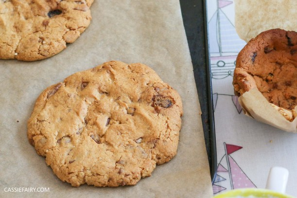 pieday friday baking recipe cookie cups pudding dessert chocolate chip-7