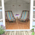 Garden inspiration – Beach hut sheds