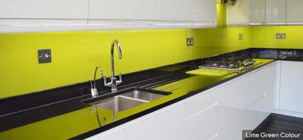 Lime-Green-Glass-Splashback
