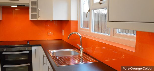 Orange-Glass-Splashback