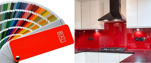 RAL-Colour-Chart-red kitchen splashback
