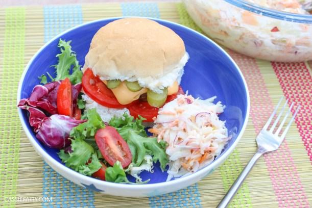 homemade summer coleslaw panasonic food processor bbq dish-18