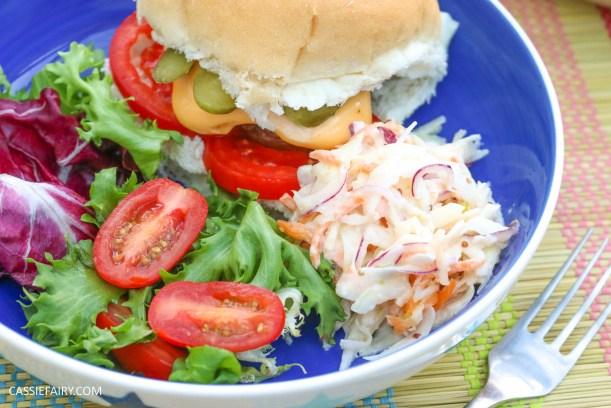 homemade summer coleslaw panasonic food processor bbq dish-19