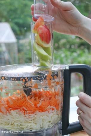 homemade summer coleslaw panasonic food processor bbq dish-8