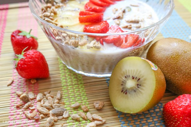 sunday brunch breakfast soasked oats fruit seeds healthy recipe-8