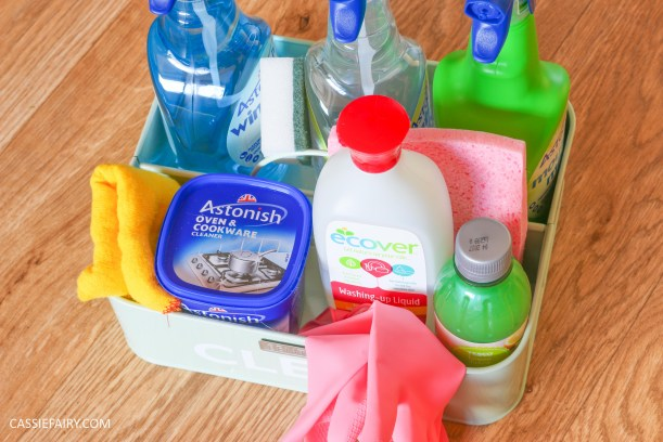 thrifty low cost summer cleaning hacks kitchen bathroom diy cruelty free-16