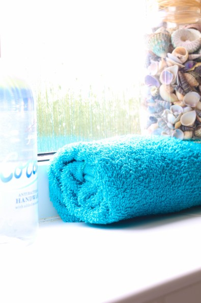 thrifty low cost summer coastal bathroom makeover diy project_-17
