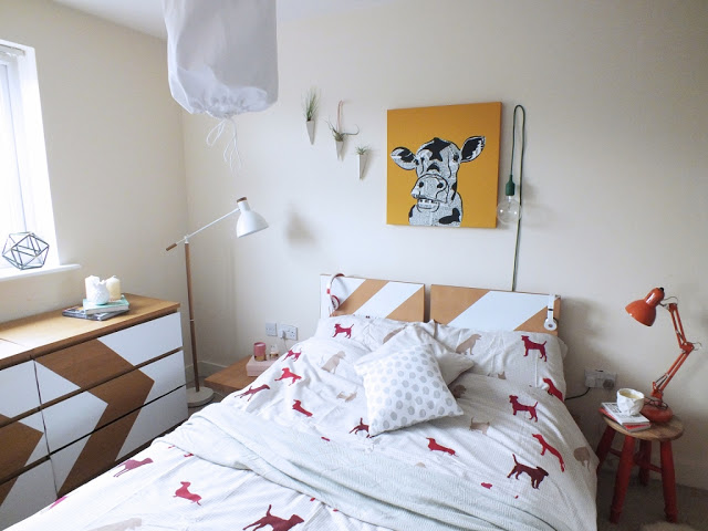 bedroom-makeover-diy home tour dont cramp my style blog