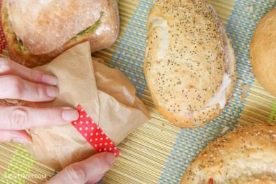 friYAY recipe layered picnic rolls sandwich filling ideas and inspiration