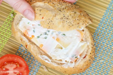 layered picnic rolls recipe chicken ham cheese sandwich filling friyay-5