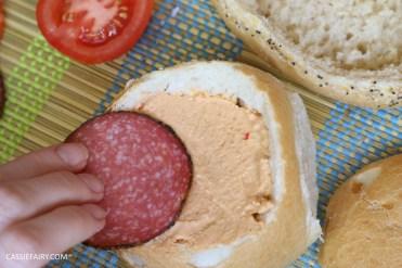layered picnic rolls recipe tex mex spicy sandwich filling friyay-6
