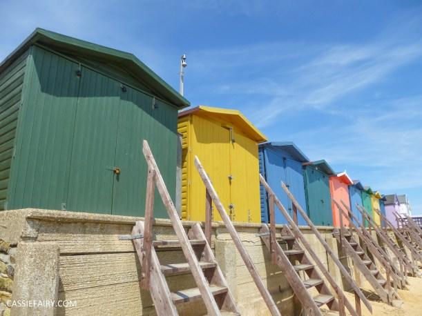 summer holiday sunset beach huts seaside-2