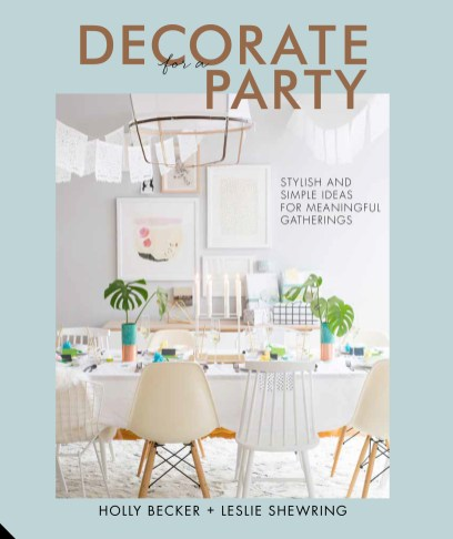 Decorate for a Party - Front Cover FINAL