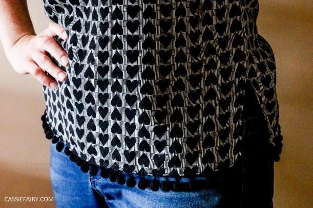 primark-high-street-hack-top-makeover-pompoms-diy-sewing-customising-