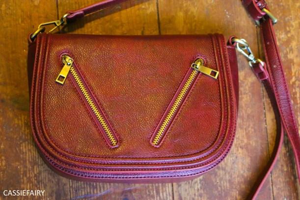 handbag-wine-burgundy-satchel-bag-retro-school-crossbody-1-of-3