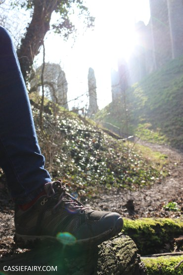 valentines day out framlingham castle on the hill suffolk walking ramble hiking shoes boots-30