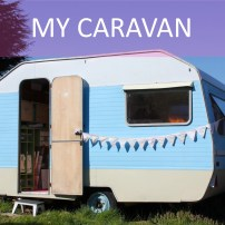 Step inside my little vintage caravan